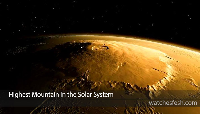Highest Mountain in the Solar System